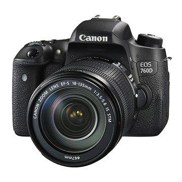 Canon 佳能EOS 760D KIT(18-135STM)單眼相機(福利品出清)