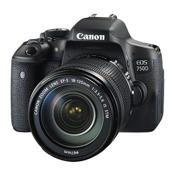 Canon 佳能EOS 750D KIT(18-135STM)單眼相機