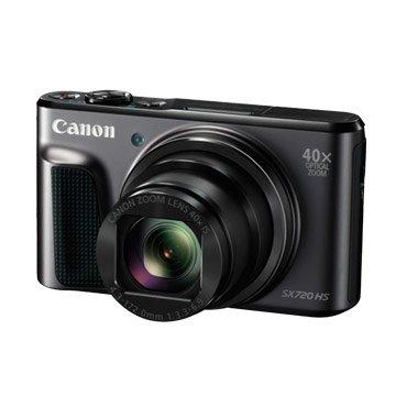 Canon 佳能 PowerShot SX720HS黑2,030萬畫素類單(福利品出清)