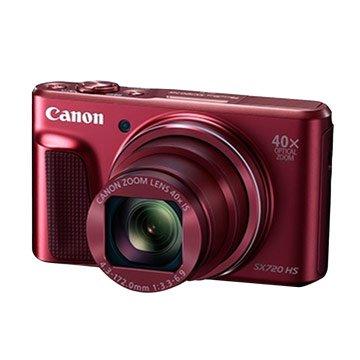 Canon 佳能PowerShot SX720HS紅2,030萬畫素類單(福利品出清)