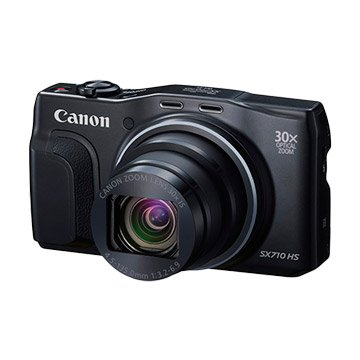 Canon 佳能 PowerShot SX710 HS 黑 類單眼相機(福利品出清)