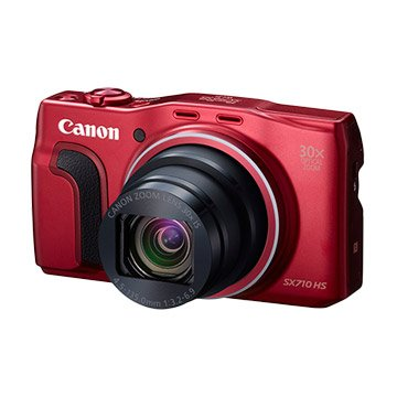 Canon 佳能 PowerShot SX710 HS 紅 類單眼相機(福利品出清)