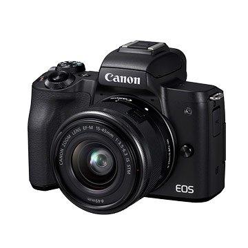 Canon  EOS M50 +EF-M 15-45黑 輕單眼
