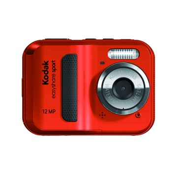Kodak 柯達 Sport C123棕紅2.41200萬 防水相機(福利品出清)