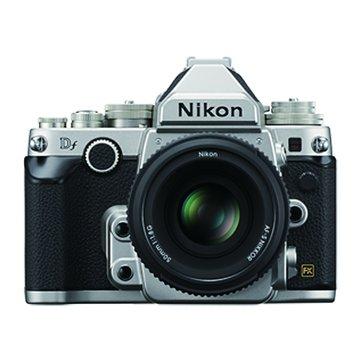 NIKON 尼康 Df KIT(50mm f/1.8G)銀 單眼相機