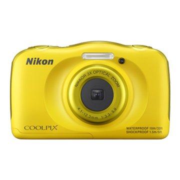 NIKON 尼康 S33黃2.71320 萬畫素 防水相機(福利品出清)