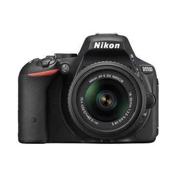 NIKON 尼康D5500(18-55+35mm)/1.8G 變焦+定焦人像鏡 雙鏡組