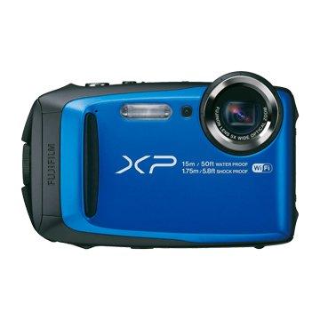 FUJIFILM 富士軟片 富士 XP90 藍31640萬畫素Wi-Fi 防水相機(福利品出清)