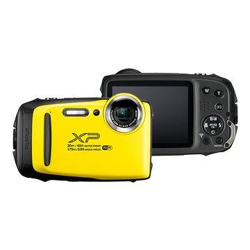 FUJIFILM 富士軟片 XP-130黃 1640萬畫素 防水相機(福利品出清)