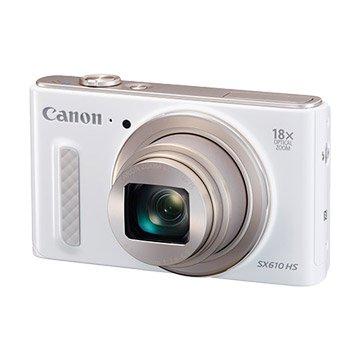 Canon 佳能 PowerShot SX610 HS 白 類單眼相機(福利品出清)