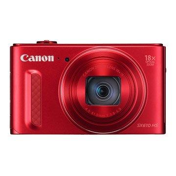 Canon 佳能 PowerShot SX610 HS 紅 類單眼相機(福利品出清)