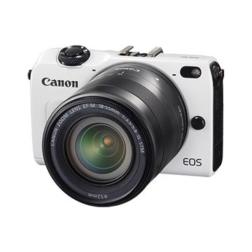 Canon 佳能 EOS M2 KIT(18-55+90EX)白 輕單眼(福利品出清)