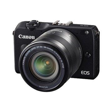 Canon 佳能 EOS M2 KIT(18-55+90EX)黑 輕單眼(福利品出清)