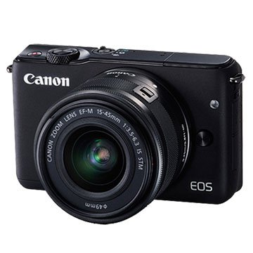 Canon 佳能EOS M10(15-45mm)黑 輕單眼相機