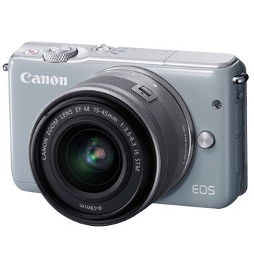 Canon 佳能EOS M10(15-45mm)灰 輕單眼相機