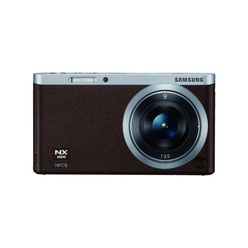 SAMSUNG 三星 NX Mini 定焦組(9mm)咖啡色 輕單眼(福利品出清)