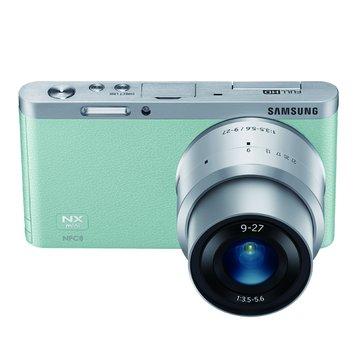SAMSUNG 三星 三星 NX Mini 變焦組(9-27mm)綠 輕單眼(福利品出清)