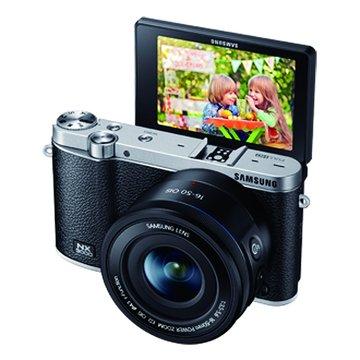 SAMSUNG 三星 NX3000黑 單鏡(16-50mm PZ+Flash)單眼(福利品出清)