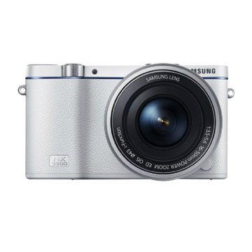 SAMSUNG 三星 NX3300(16-50mm PZ+Flash)白 單眼(福利品出清)