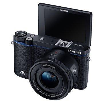 SAMSUNG 三星 NX3300(16-50mm PZ+Flash)黑 單眼(福利品出清)