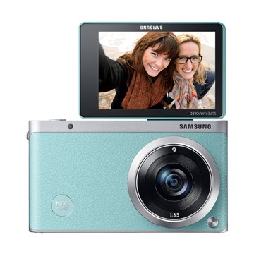 SAMSUNG 三星 NX Mini 2變焦組(9-27mm)綠 輕單眼 D(福利品出清)