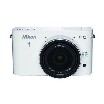 NIKON 尼康J1(10-30+10mm)白 單眼相機(福利品出清)