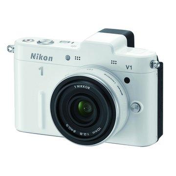 NIKON 尼康V1(10mm f2.8)白 單眼相機(福利品出清)