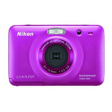 NIKON 尼康 S30藍2.71010萬畫素防水相機(福利品出清)
