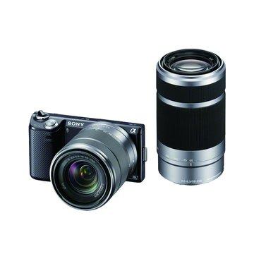 SONY 新力牌 NEX-5NY/B黑(18-55+55-210) 單眼相機(福利品出清)
