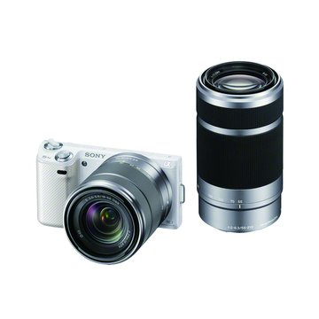 SONY 新力牌 NEX-5NY/W白(18-55+55-210) 單眼相機(福利品出清)