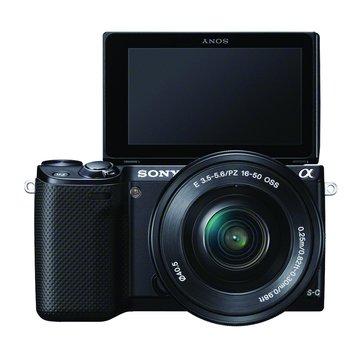 SONY 新力牌 NEX-5RL/BQ黑 變焦(16-50) 單眼相機(福利品出清)