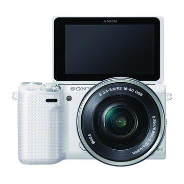 SONY 新力牌 NEX-5RL/WQ白 變焦(16-50)單眼相機(福利品出清)