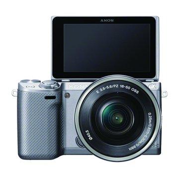 SONY 新力牌 NEX-5RL/SQ銀 變焦(16-50)單眼相機(福利品出清)