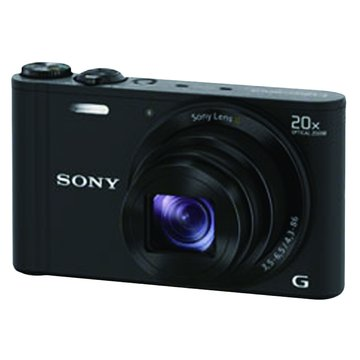 SONY 新力牌 DSC-WX300/B黑/20X 類單眼相機(福利品出清)