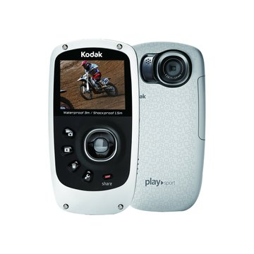 Kodak 柯達 ZX5防水相機/白(福利品出清)