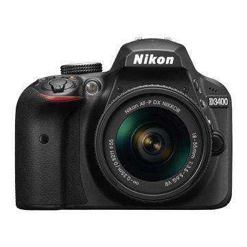 NIKON D3400(18-55mm)黑 單眼相機