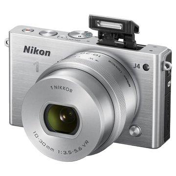 NIKON 尼康 J4(10-30mm)銀 單眼相機(福利品出清)