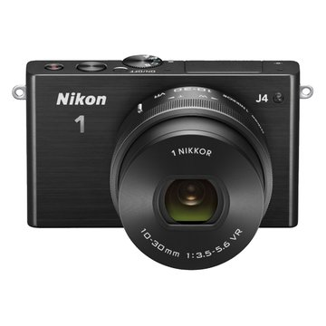 NIKON 尼康 1 J4(10-30mm)黑 單眼相機(福利品出清)