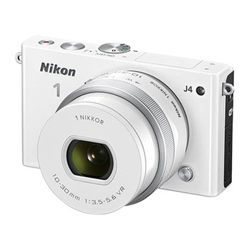 NIKON 尼康1 J4(10-30mm)白 單眼相機(福利品出清)
