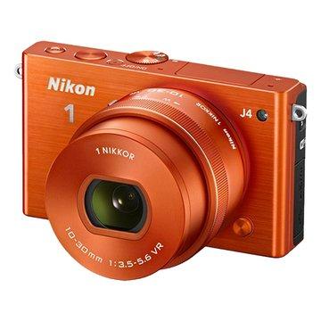 NIKON 尼康 1 J4(10-30mm)橘 單眼相機(福利品出清)