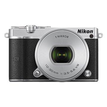 NIKON 尼康 J5(10-30mm)銀 輕單眼相機(福利品出清)