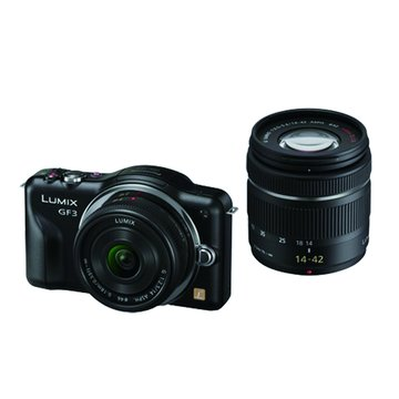 Panasonic 國際牌 DMC-GF3W-W/白/雙鏡組 單眼相機(福利品出清)