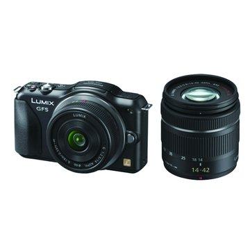 Panasonic 國際牌 DMC-GF5W-K黑 雙鏡組 單眼相機(福利品出清)