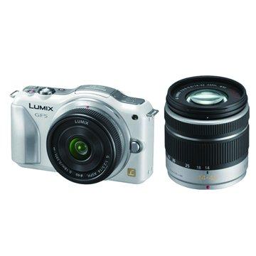 Panasonic 國際牌 DMC-GF5W-W白 雙鏡組 單眼相機(福利品出清)