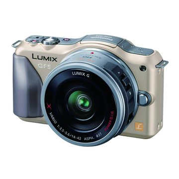 Panasonic 國際牌 DMC-GF5W-N金 雙鏡組 單眼相機(福利品出清)