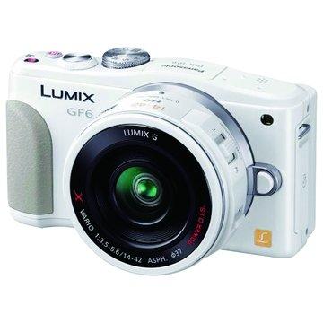 Panasonic 國際牌 DMC-GF6X-W/白/X鏡組 輕單眼相機(福利品出清)