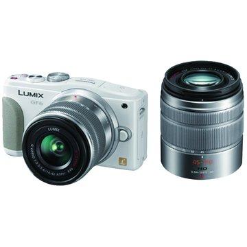 Panasonic 國際牌 DMC-GF6W-W/白/雙鏡組 輕單眼相機(福利品出清)