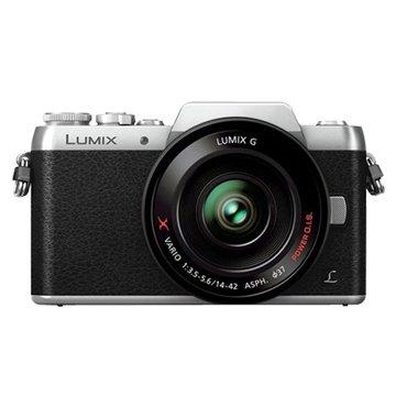 Panasonic 國際牌 DMC-GF7K-S黑銀 K鏡組 輕單眼相機(福利品出清)