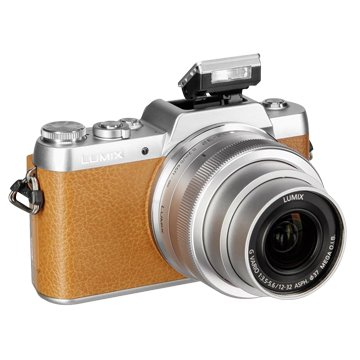Panasonic 國際牌 DMC-GF7K-T棕 K鏡組 輕單眼相機(福利品出清)