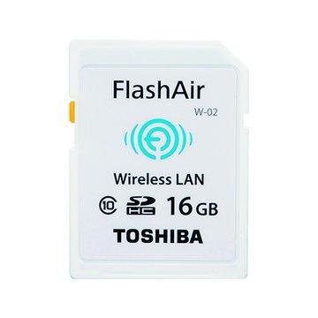 TOSHIBA 東芝WiFi 相機卡(SDHC 16G CL10)